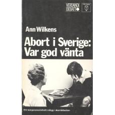 AbortiSverige:<br /> Vargodvänta