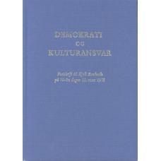 Demokrati<br /> og<br /> Kulturansvar