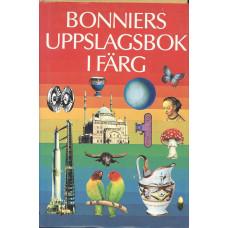 Bonniers<br /> uppslagsbok<br /> ifärg